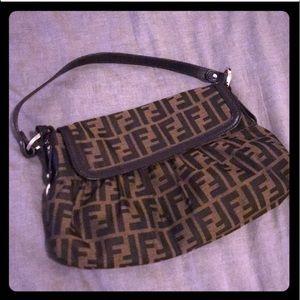 Authentic Fendi logo handbag